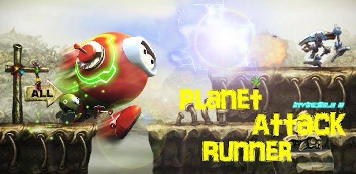 Planet Attack Runner apk