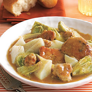 Braised Chicken with Potatoes