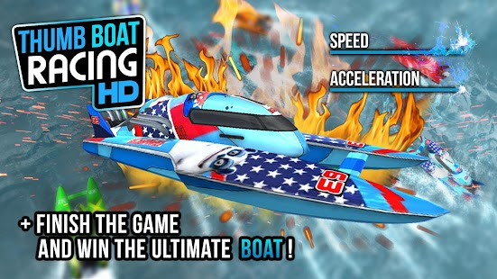 Thumb Boat Racing- screenshot thumbnail