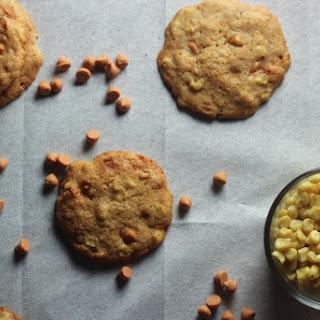 Sweet Corn + Butterscotch Cookies