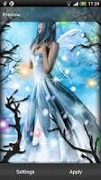 Screenshot of Fairy Live Wallpaper