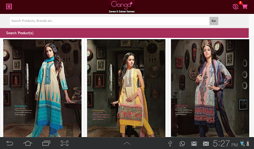 Ganga Saris screenshot 6