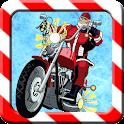 Christmas biker game
