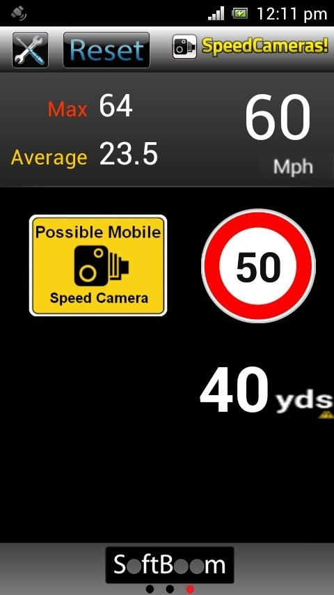 Speed Cameras!- screenshot