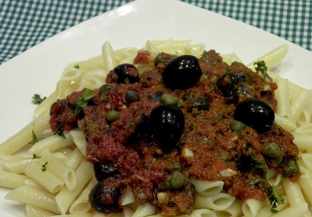Puttanesca Pasta Recipe