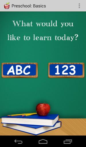 Preschool: Basics