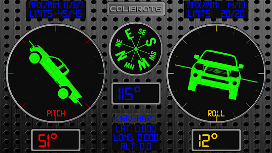 RMO Trial - Inclinometer 4X4- screenshot thumbnail