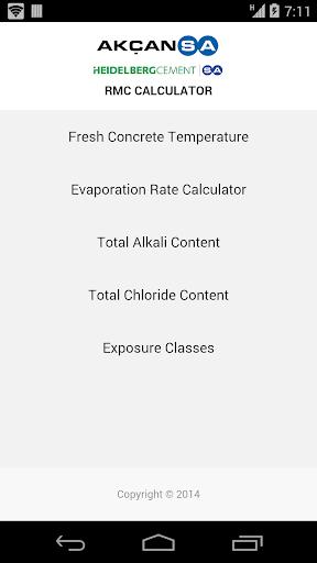 RMC Calculator
