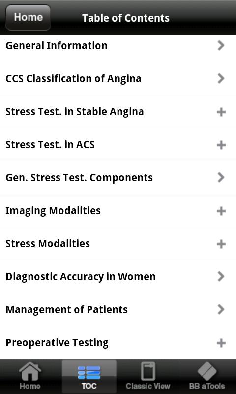 Cardiac Stress Testing apc - screenshot