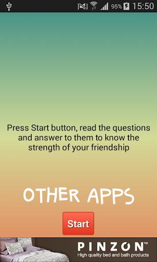 Friendship Quiz Calculator