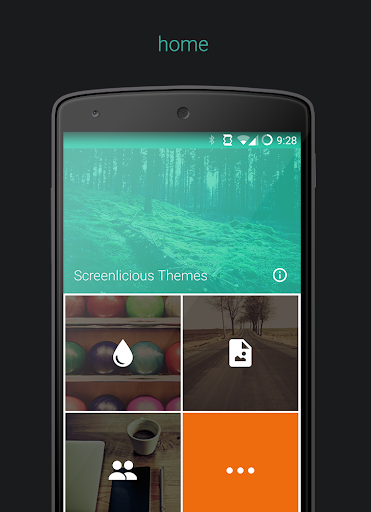 Screenlicious Themes