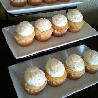 Haupia Cupcakes.