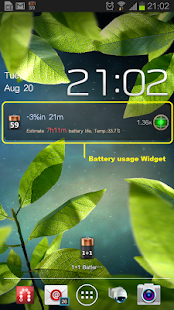 1+1 Battery Saver - screenshot thumbnail