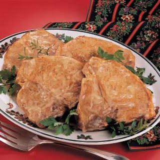 Chicken-Baked Chops.