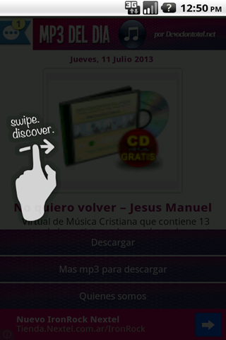 Música Cristiana en MP3 - screenshot