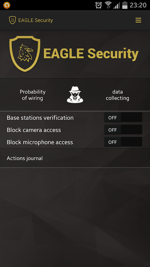 EAGLE Security FREE- screenshot