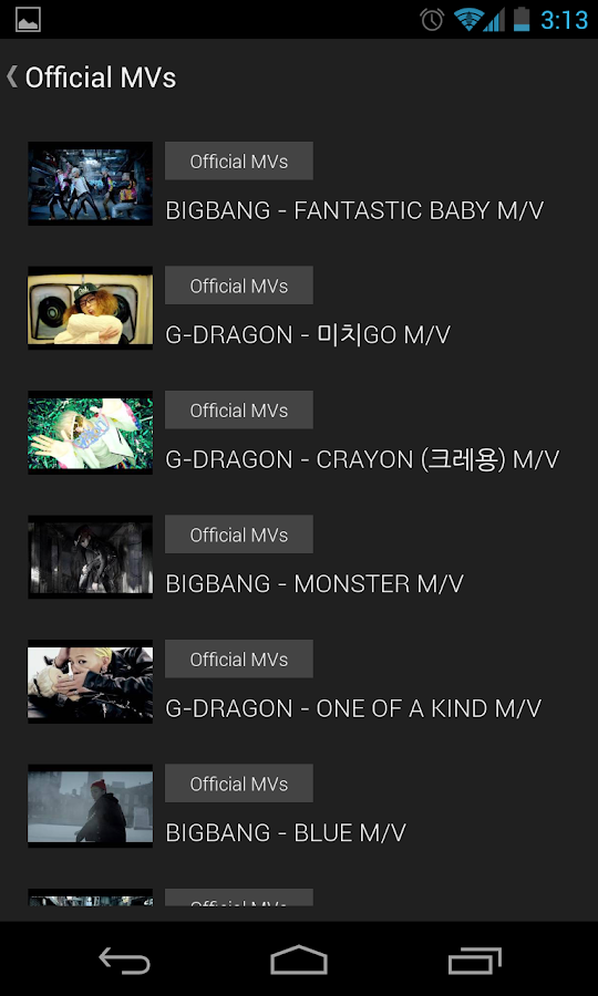 BIGBANG (KPOP) Club - screenshot