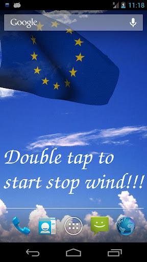 3D EU Flag Live Wallpaper +