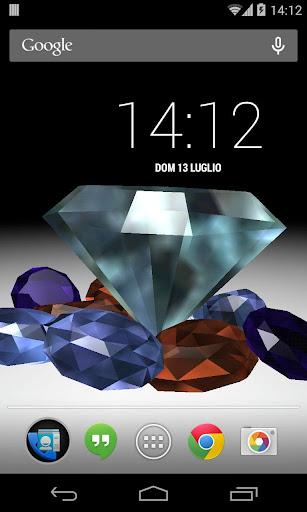 鑽石動態壁紙3D