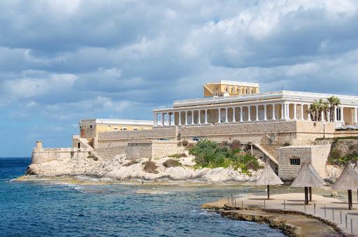 st-julian-malta - St. Julian's, north of Valletta, Malta.