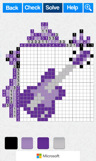 Pixel Puzzle Nonograms