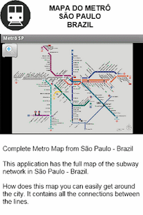 Metro Map - Sao Paulo - Brazil - screenshot thumbnail