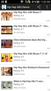 Hip Hop ABS Dance Workouts- screenshot thumbnail