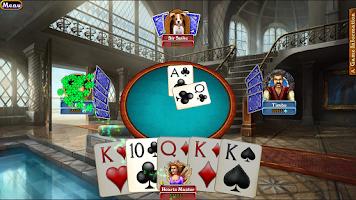 Screenshot of Hardwood Euchre (Free)