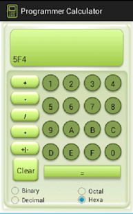Programmer Calculator - screenshot thumbnail