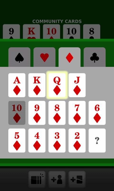 Poker Calculator - screenshot