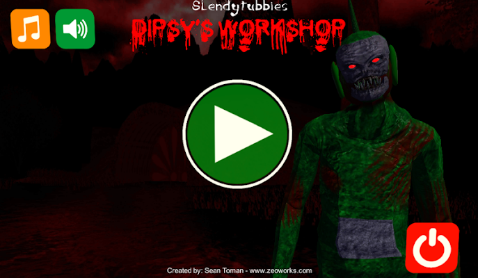 Slendytubbies Dispy's Workshop - screenshot