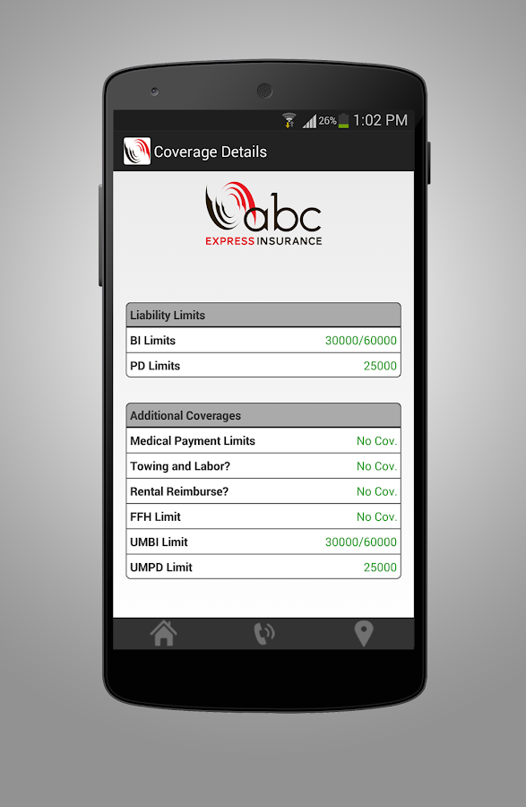 ABC Express Insurance- screenshot