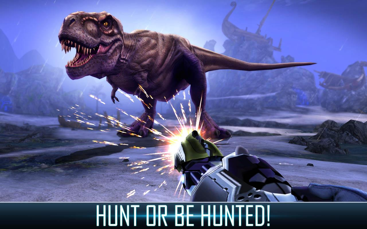 DINO HUNTER: DEADLY SHORES- screenshot