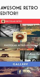 Retro camera -Vintage grunge