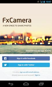 FxCamera - a free camera app v