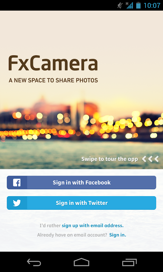 FxCamera - a free camera app- screenshot