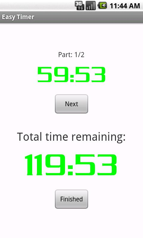 Easy Timer- screenshot