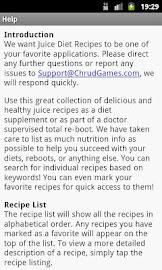 Juice Diet Recipes Screenshot 6