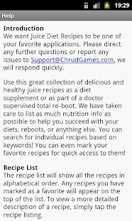 Juice Diet Recipes Screenshot 6