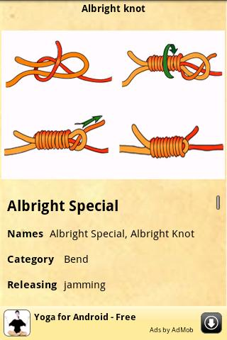 Knots Guide- screenshot