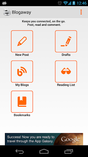 Blogaway for Android Blogger