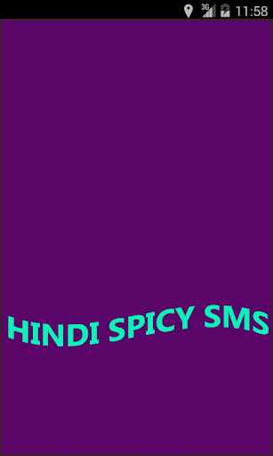 Hindi Spicy SMS