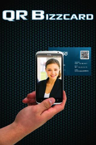 QR BUSINESS CARD (QR BIZZCARD) - screenshot