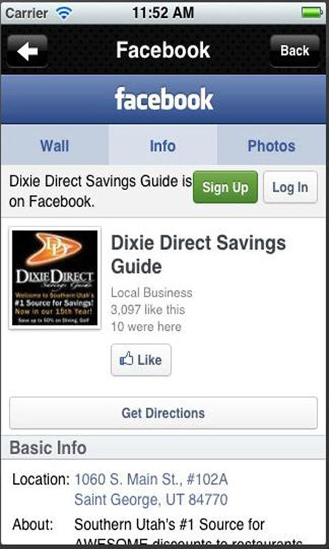 Dixie Direct- screenshot