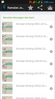 Screenshot of Ramalan Zodiak 2014