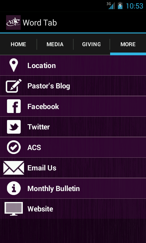 Word Tabernacle Church- screenshot