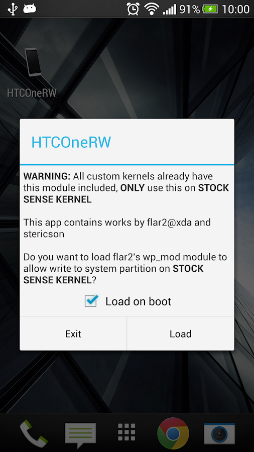 HTC One RW (abandonded) - screenshot