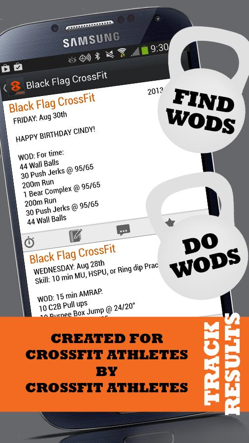 WODBOX - For CrossFit Athletes - screenshot