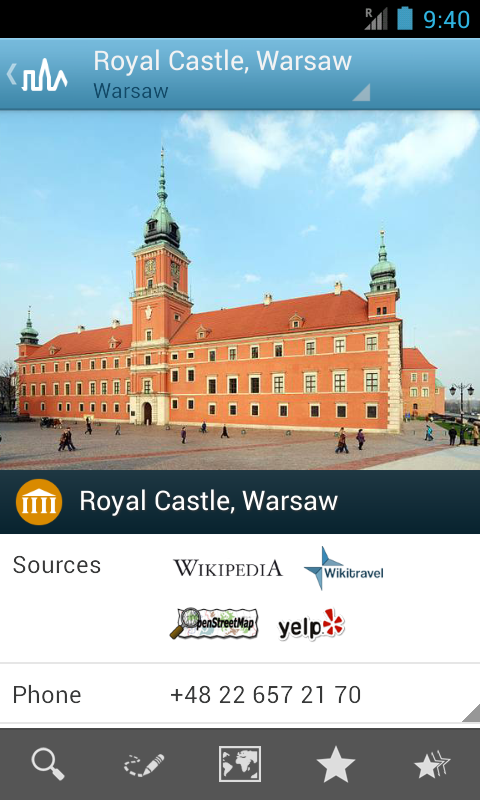 Warsaw Travel Guide - screenshot