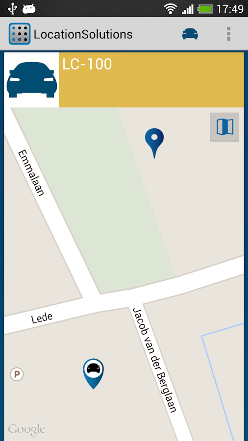 LocationSolutions- screenshot